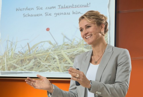 Ilka Piechowiak Speaker bei einer Businesskonferenz