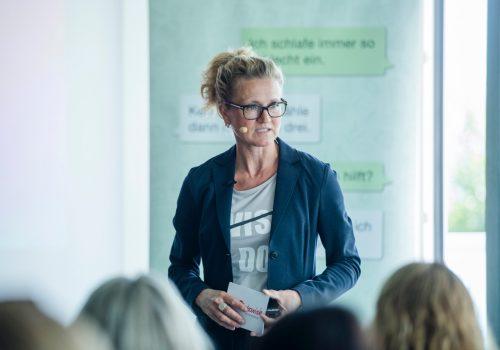 Ilka Piechowiak beim Luzern Workshop